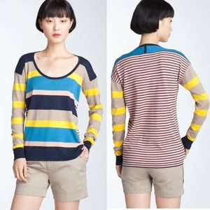 Trixie Mixed Stripe Sweater MARC By MARC JACOBS